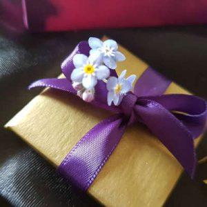 raw chocolate wedding favours