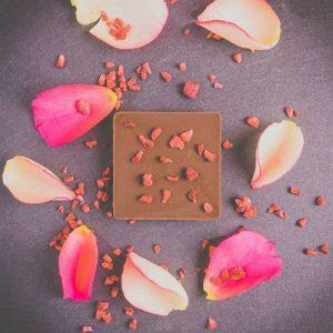 rose raw chocolate